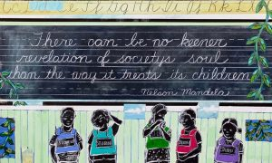 Syracuse resident curates art exhibit to address gun violence, racism